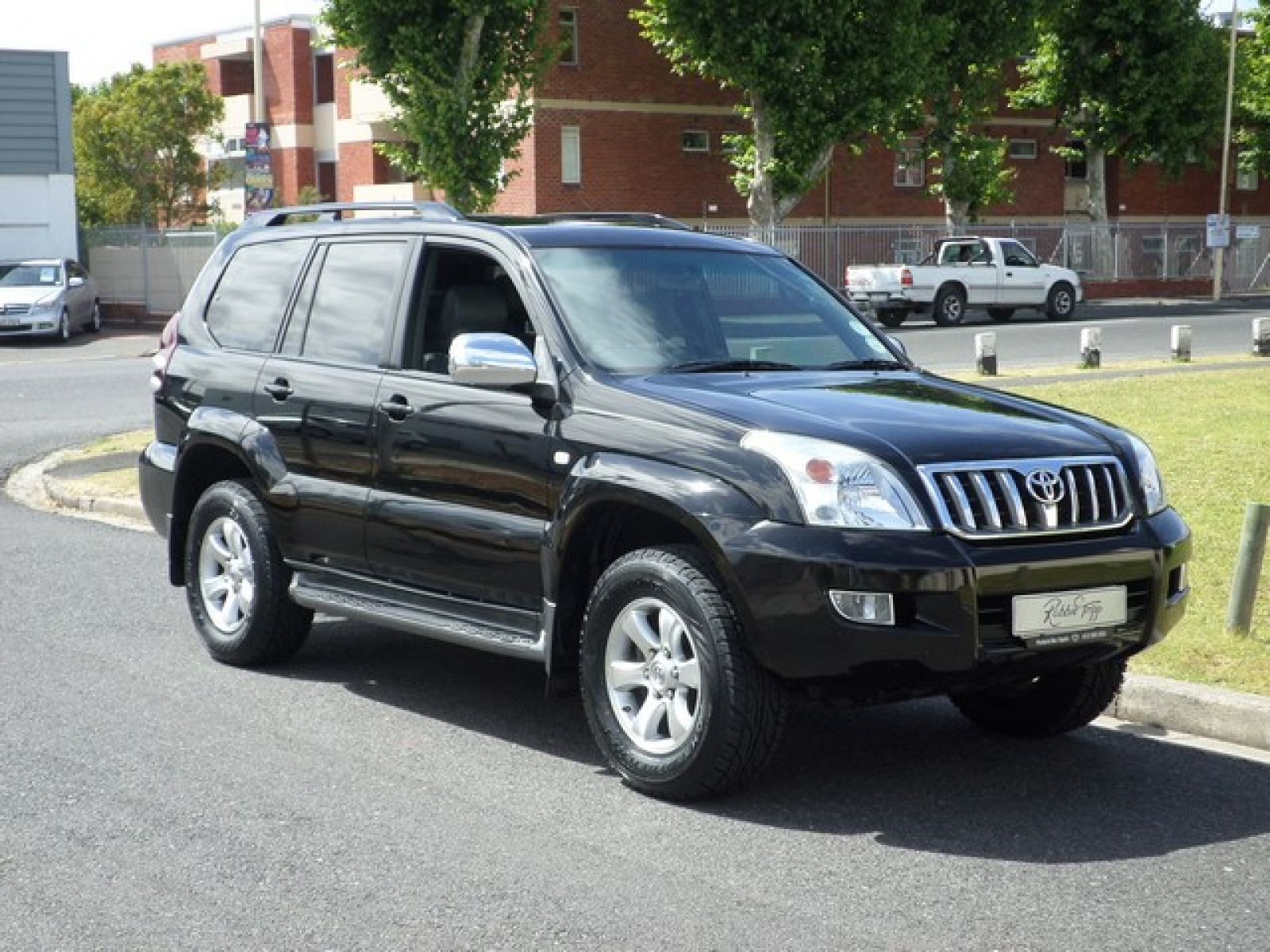 Land Cruiser Prado Prado Vx 4 0 V6 A  T Specifications