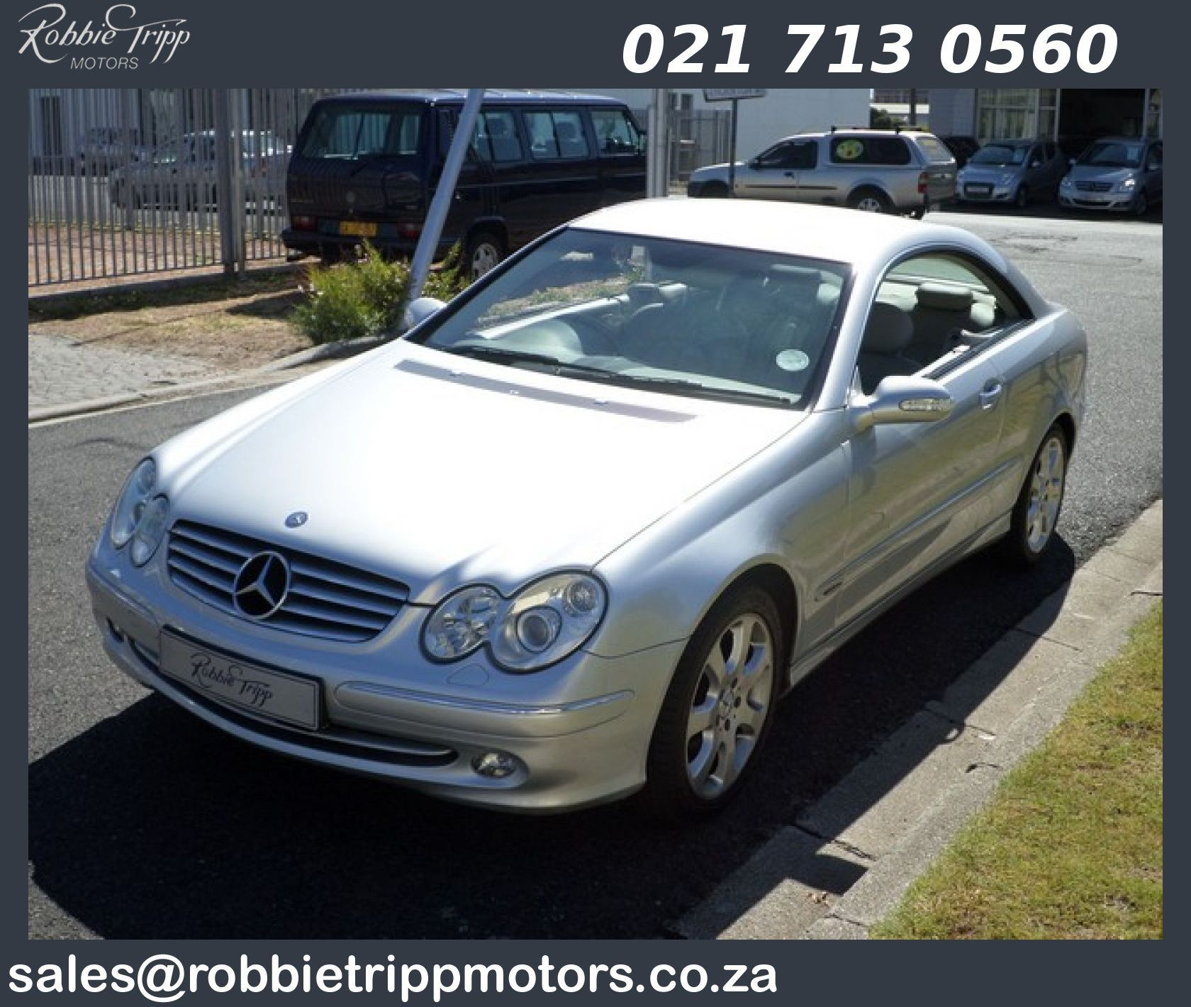 Mercedes Benz Clk 500 Coupe Available