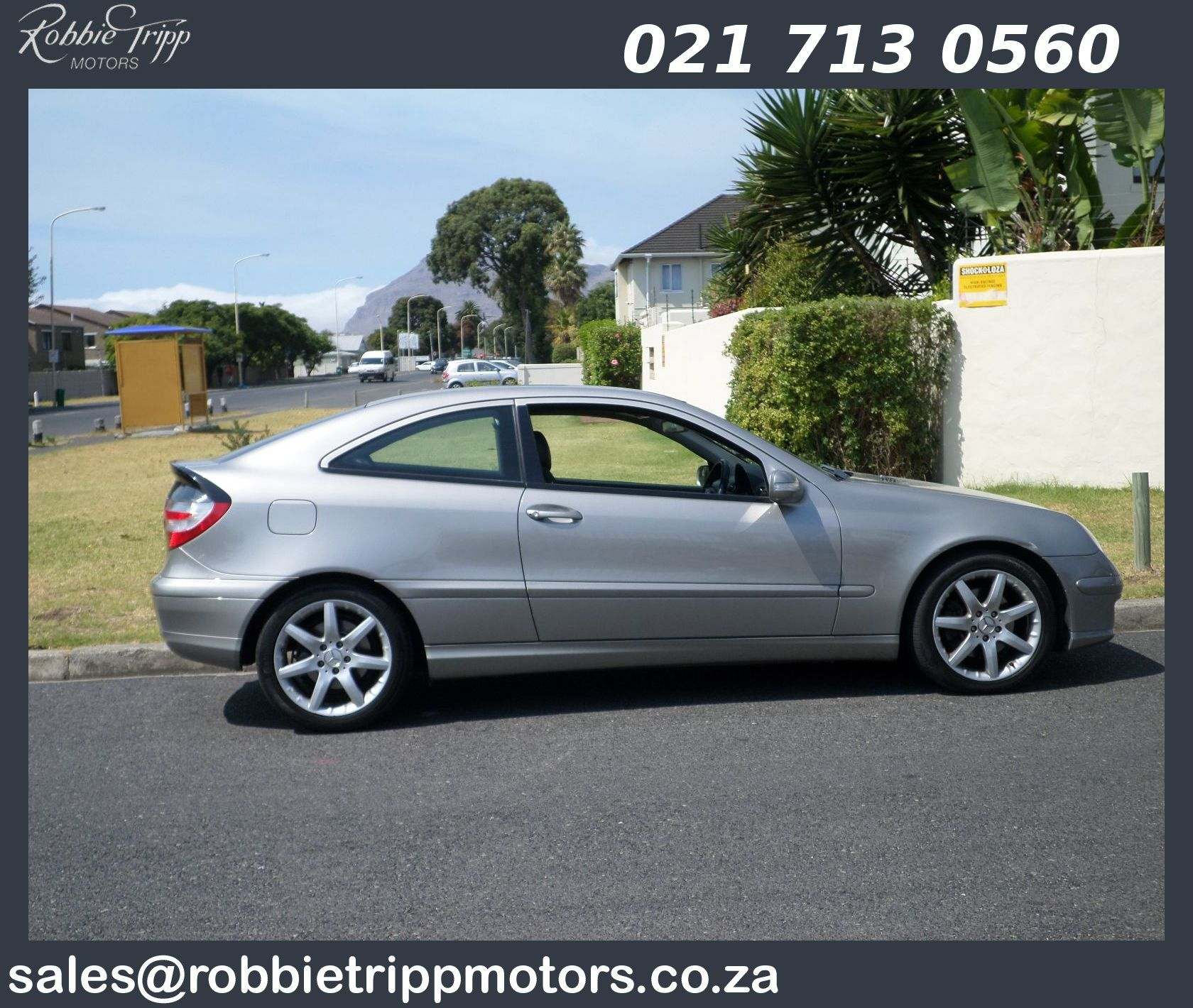 MERCEDES-BENZ C230 V6 COUPE Available