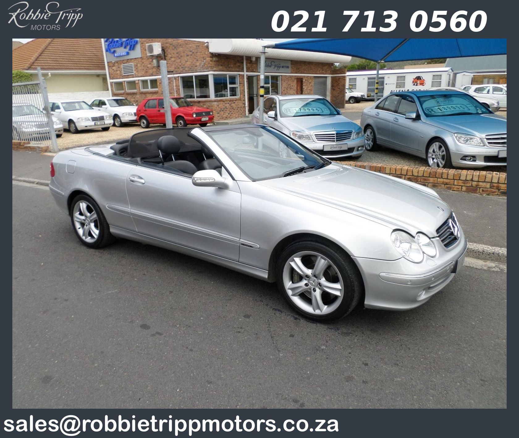 Mercedes benz clk 500 cabriolet available for Mercedes benz hours of operation